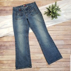 Tommy Hilfiger Jeans Boot Cut Junior SZ 7 Vintage